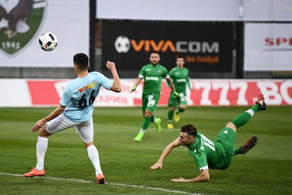 Лудогорец съсипа Дунав в Русе с пет гола