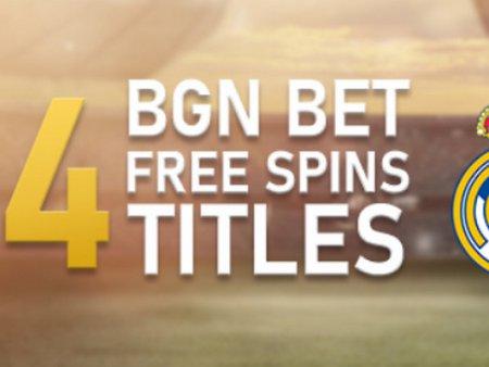 Спечелете 34 Free Spins, ако Реал грабне титлата още днес