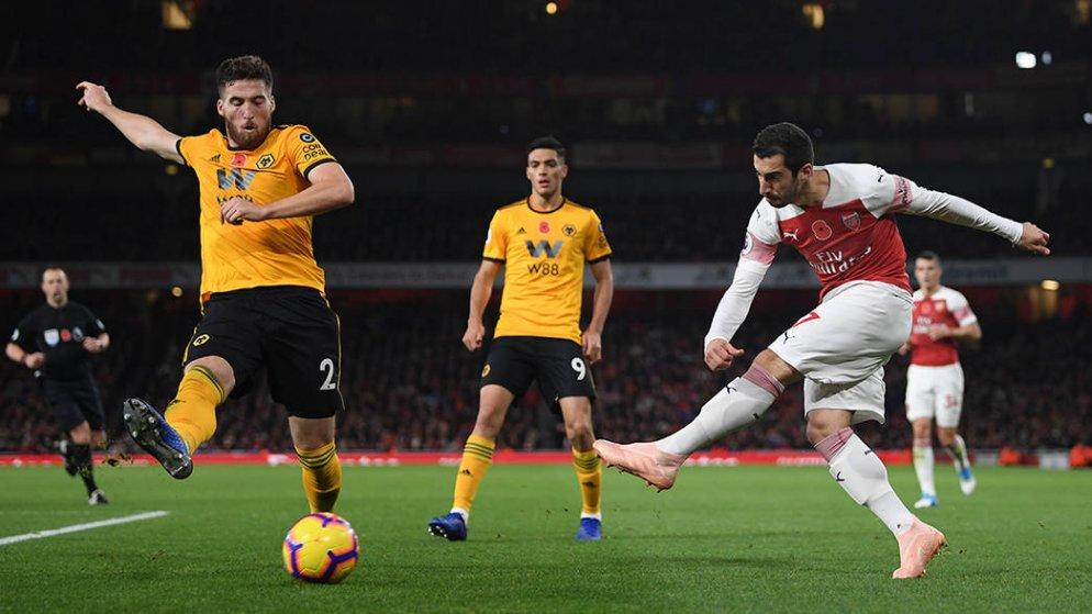 Arsenal FC v Wolverhampton Wanderers – Premier League