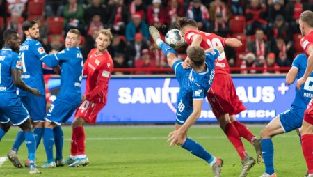 1.FC Union Berlin gegen TSG 1899 Hoffenheim – 1.Bundesliga